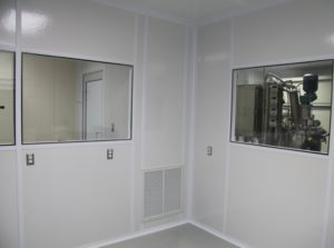 ALUMA1 Cleanroom Walls FRP Panels