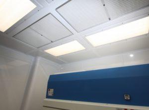 BSC II Ceiling HEPA & Lighting