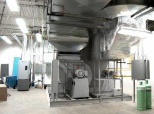 Desiccant Wheel Drier - 24,000 CFM Outside Air