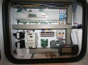 Cleanroom AHU Control Panel