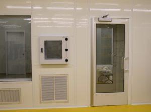 Cleanroom Air Lock & Pass Through
