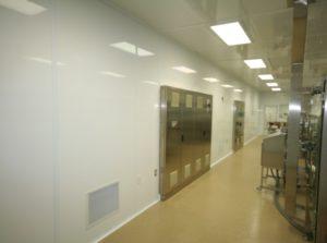ALUMA1 Cleanroom Control Panel Installation