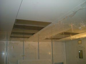 Walkable Flush Cleanroom Ceiling