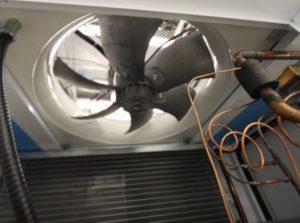 ECM Air Cooled Condenser Fan
