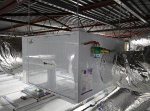 Incubator Exhaust HEPA Filter