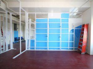 Trace Metals ALUMA1 Cleanroom Wall System Return Air