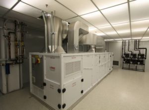 Cleanroom Walk In Cooler Low Humidity Environmental System