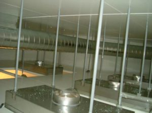 Aseptic Fill Suite Ceiling Plenum