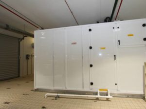Cleanroom AHU Installed on Platform