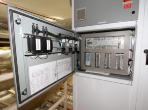Cleanroom AHU Carel Control Panel
