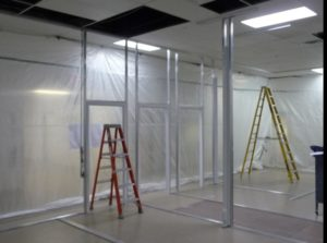 ALUMA1 Cleanroom Framing
