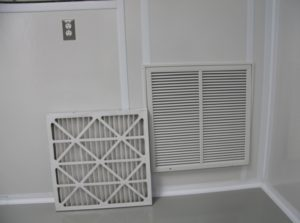 Cleanroom Return Air Filter Grille