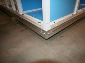 AHU Base Rail
