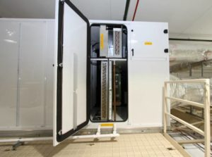 Cleanroom AHU Split Airstream Design